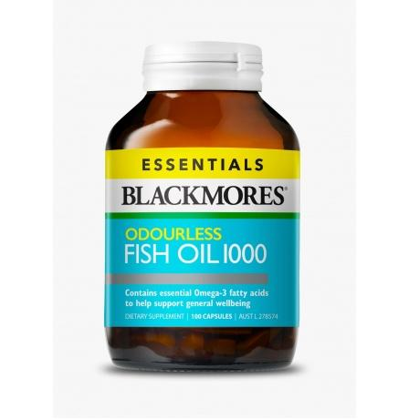 Blackmores Odourless fish oil №100 REL1 - Добрая аптека